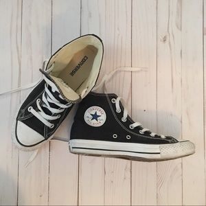 Converse All stars high top black sneakers